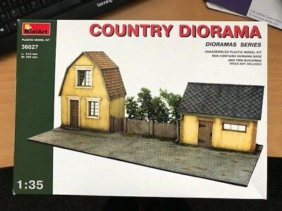 "Diorama 1:35 ""Country Diorama"" 515 x 225 mm"