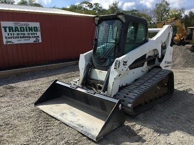 2011 Bobcat T750 Tracked Skid Steer Loader w/Cab!