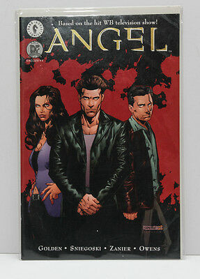 Dark Horse Comics – Angel Issue 7 - Dynamic Forces Exclusive Gold Foil Cover - C