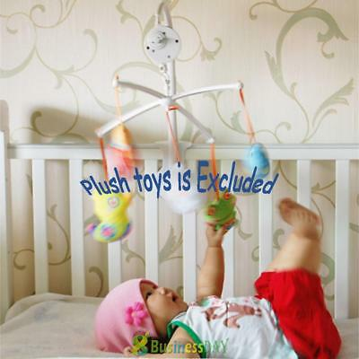 Baby Infant Crib Mobile Bed Bell Toy Holder Wind-up Rattle Music Box 8.5cm Gift