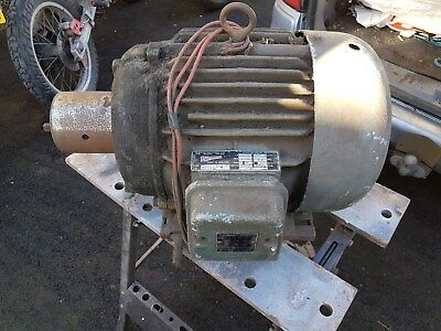 Newman Electric Motor 3 Phase Electric Motor – 5 Hp