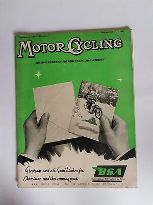 The Motor Cycle 15 DEC 1955 Ariel BSA Norton Trial
