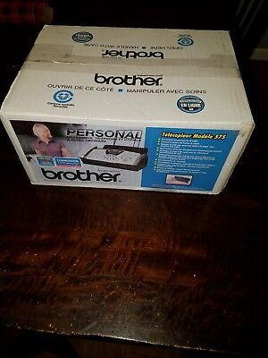 NEW BROTHER FAX-575 Personal Plain Paper Fax, Phone & copier Free Shipping