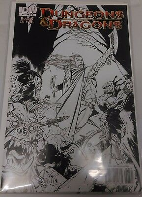 Dungeons & Dragons #3 Retail Incentive Cover A by Tim Seeley