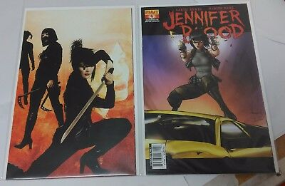 Jennifer Blood #4 Cover C (1 in 15) Ale Garza and Virgin Art Retail Incentive