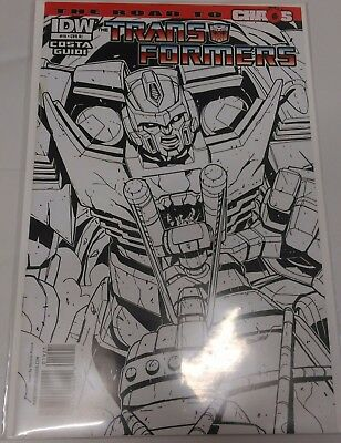 Transformers #19 The Road to Chaos Retail Incentive cover