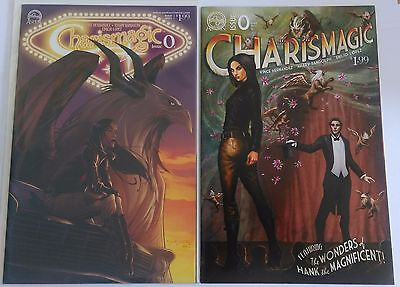 Charismagic #0 Covers A & B from AspenMLT comics.
