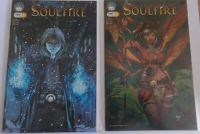 Soulfire #0 Covers A & B from AspenMLT and Michael Turner
