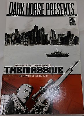Dark Horse Presents Issue #8 Featuring first part of Brian Wood's THE MASSIVE