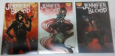 Jennifer Blood #1 Covers A, B & C