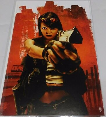 Jennifer Blood #2 Virgin Art Retail Incentive cover by Tim Bradstreet