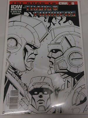 Transformers #20 The Road to Chaos Retail Incentive cover