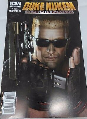 Duke Nukem, Glorious Bastard, IDW comics #1 Retail Incentive Cover