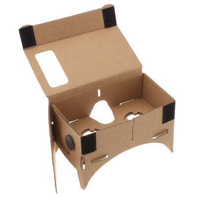 DIY Google Cardboard Virtual reality VR 3D Glasses with NFC Tag for iPhone TS