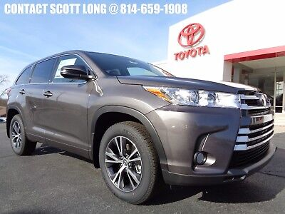 2017 Toyota Highlander New 2017 LE All Wheel Drive 3.5L AWD New 2017 Highlander LE AWD PreDawn Gray Mica Power Liftgate 2nd Row Bench Seat