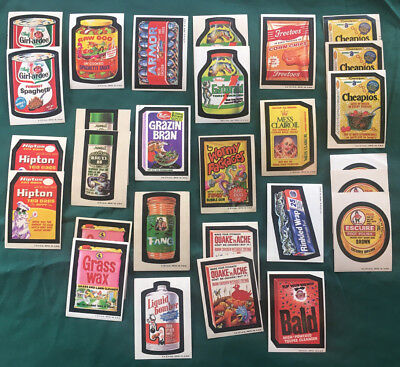 1973 Topps Wacky Packages 4rd Series--28 card in good condition