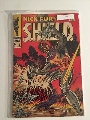 Nick Fury, Agent of SHIELD #2 (Jul 1968, Marvel)