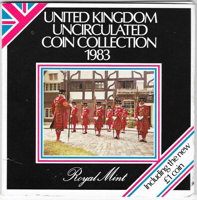 1983 United Kingdom Uncirculated Coin Collection.