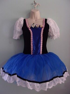 Curtain Call Costumes Lot 12 Fairy Tale Maiden Leotard w/ Attached Skirt