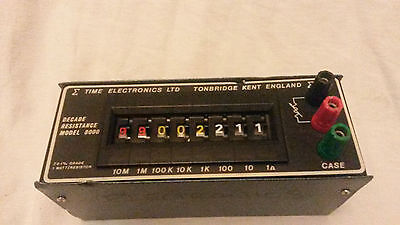 Time Electronic 1040 Decade Box, Decade Box Type Resistance