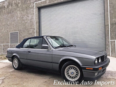 1992 BMW 3-Series 325iC 1992 BMW E30 325i CONVERTIBLE 5-SPEED MANUAL RARE INCREDIBLE VINTAGE CLASSIC WOW
