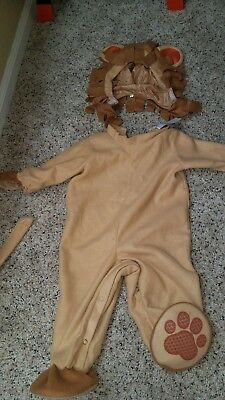 Incharacter Infant Lil' Lion Halloween Costume Size Infants & Toddler. Small.