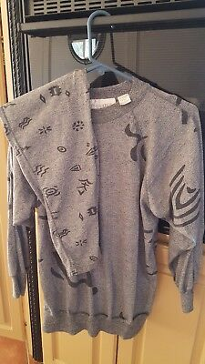 Motherhood Outfit Size Small Gray And Black
