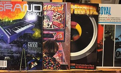 Beastie Boys Grand Royal Magazines - Vintage Issues 3-6 1996 -1997 Vgc Ext Rare