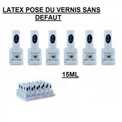 Latex  Xxl Liquide Peel Off Protection Ongle Pose Vernis Nail Art Ong059