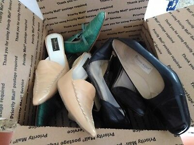 Lot of Womens Shoes size 7.5  5 pair, designer