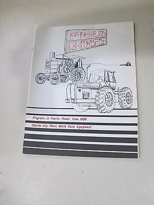 Progress in Tractor Power FIELD BOSS Hart Parr White Oliver Nice Condition