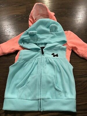 Baby Girl Lot of 2 Jackets 0-3, 3 Months