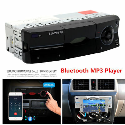 Multifuction Car MP3 Player W/ Phone Stand Bluetooth Stereo Radio FM AUX&selling