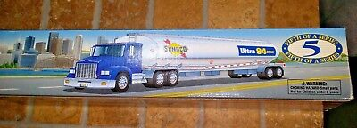 """SUNOCO 1998 LIMITED EDITION 16"""" TALKING TANKER TRUCK 5th in a Series Exc+++"""