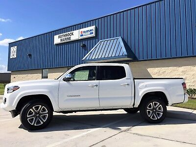 2017 Toyota Tacoma Limited 4x2 4dr Double Cab 5.0 ft SB 2017 Toyota Tacoma Limited 4x2 4dr Double Cab 5.0 ft SB Automatic 6-Speed 4X2 V6