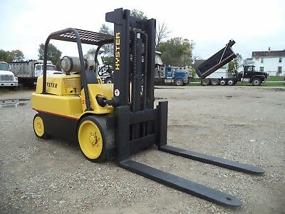 Hyster S150A, 15,000#, 15000# Cushion Tired Forklift, LPG Powered