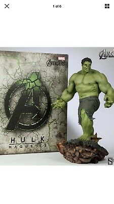 Sideshow Hulk 1/4 scale maquette massive piece awesome detail!