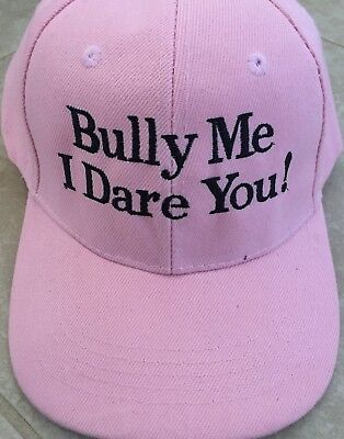 ANTI BULLY Cool Hats BULLY ME I DARE YOU Kids Hat CAP