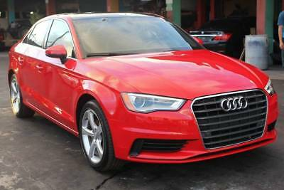 2015 Audi A3  2015 Audi A3 Runs&Drives Loaded Clean Nice Salvage 12k Miles Export Buyers Welco