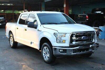 2016 Ford F-150  2016 Ford F-150 XLT Runs&Drives Rebuilder Repairable Fixer Damaged Wrecked Fix