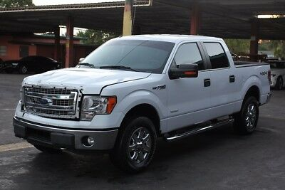 2014 Ford F-150  2014 Ford F-150 Loaded ! 80K miles Salvage Fixer Project Rebuilder 4x4 Clean Sav