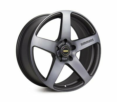 HOLDEN ASTRA 2005 TO 2014 WHEELS PACKAGE: 19x8.0 19x9.0 Simmons FR-C Black Tint