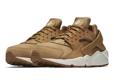 3ad0801b8d29 Nike Air Huarache Mens 318429-202 Flax Wheat Tan Khaki Brown Sail New Ship  Now