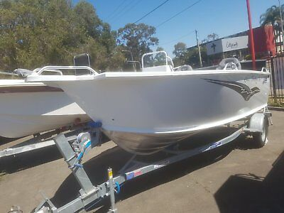 4900 TABS Territory Pro Boat and Trailer, New