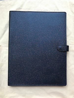 Louis Vuitton Notepad Cover Gray Taiga Leather With Notepad Refill