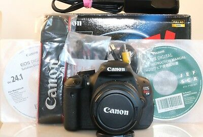 CANON T3i 600 REBEL EOS DIGITAL SLR 18MP W/ 18-55MM LENS CAMERA 12 PC BUNDLE