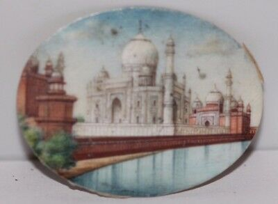 Fine Quality Antique 19Th C Indian Hand Painted Miniature Painting