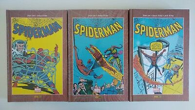 Spiderman Tres Tomos Etapa De Lee Y Ditko Completa, Best Of Marvel Essentials