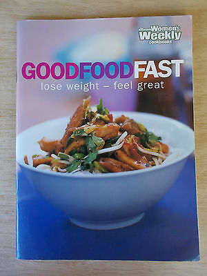 Australian Women's Weekly~Good Food Fast~Fat & KJ Counts~Recipes~Cookbook~120pp