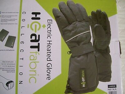 Offers - Fingers Heated-Gloves-One-Of A Few Models Which Use Aa Batteries. New=+